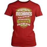 Mechanic T-Shirt Design - Blessed Mechanics