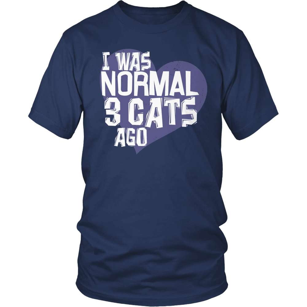 Cat Shirt - I Was Normal! - snazzyshirtz.com
