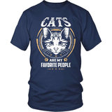 Cat T-Shirt Design - Cats Are My Favorite