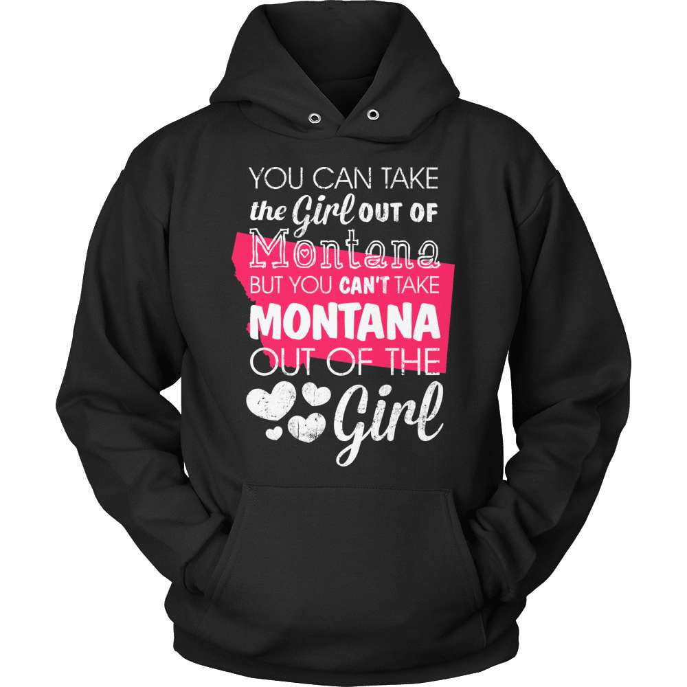 Montana T-Shirt Design - Girl Out Of Montana