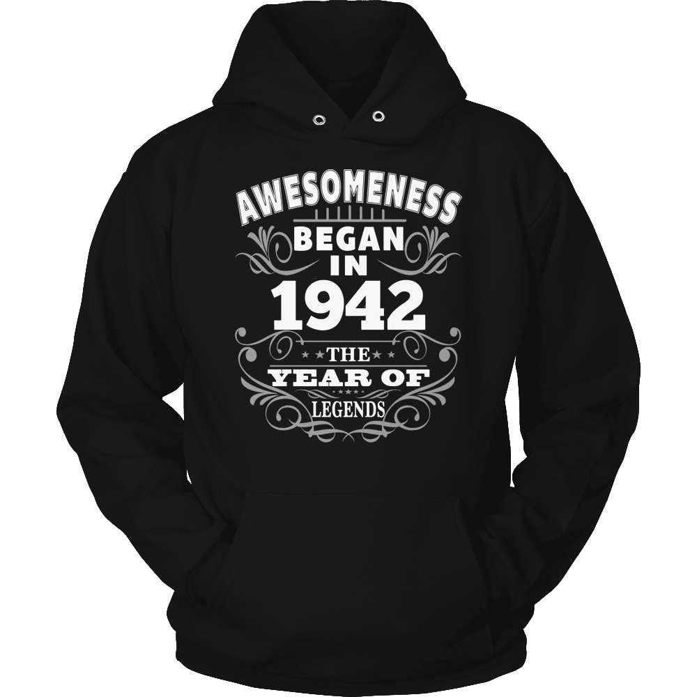 Birthday T-Shirt Design - Awesomeness - 1942 - snazzyshirtz.com