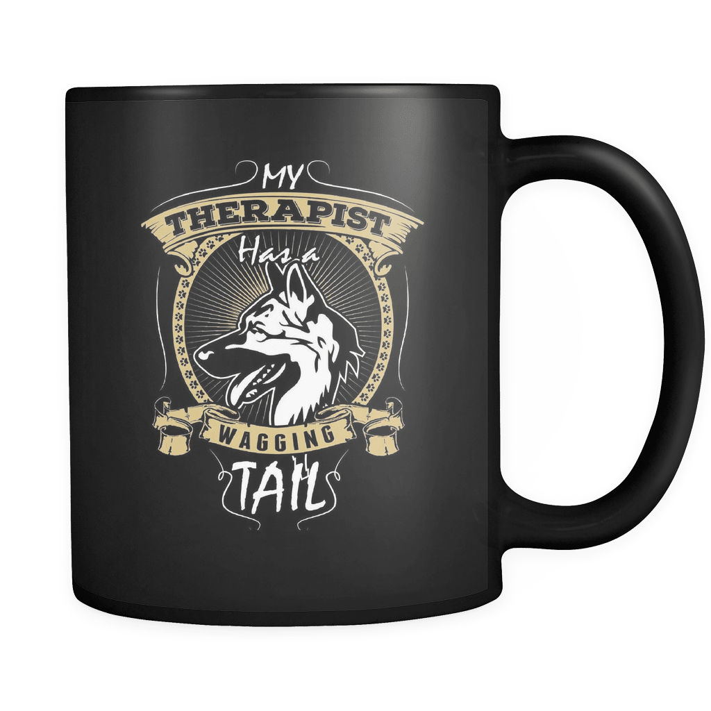 Wagging Tail - Luxury German Sheperd Mug