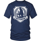 Veteran T-Shirt Design - Veteran Crest