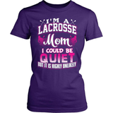 Lacrosse T-Shirt Design - Lacrosse Mom