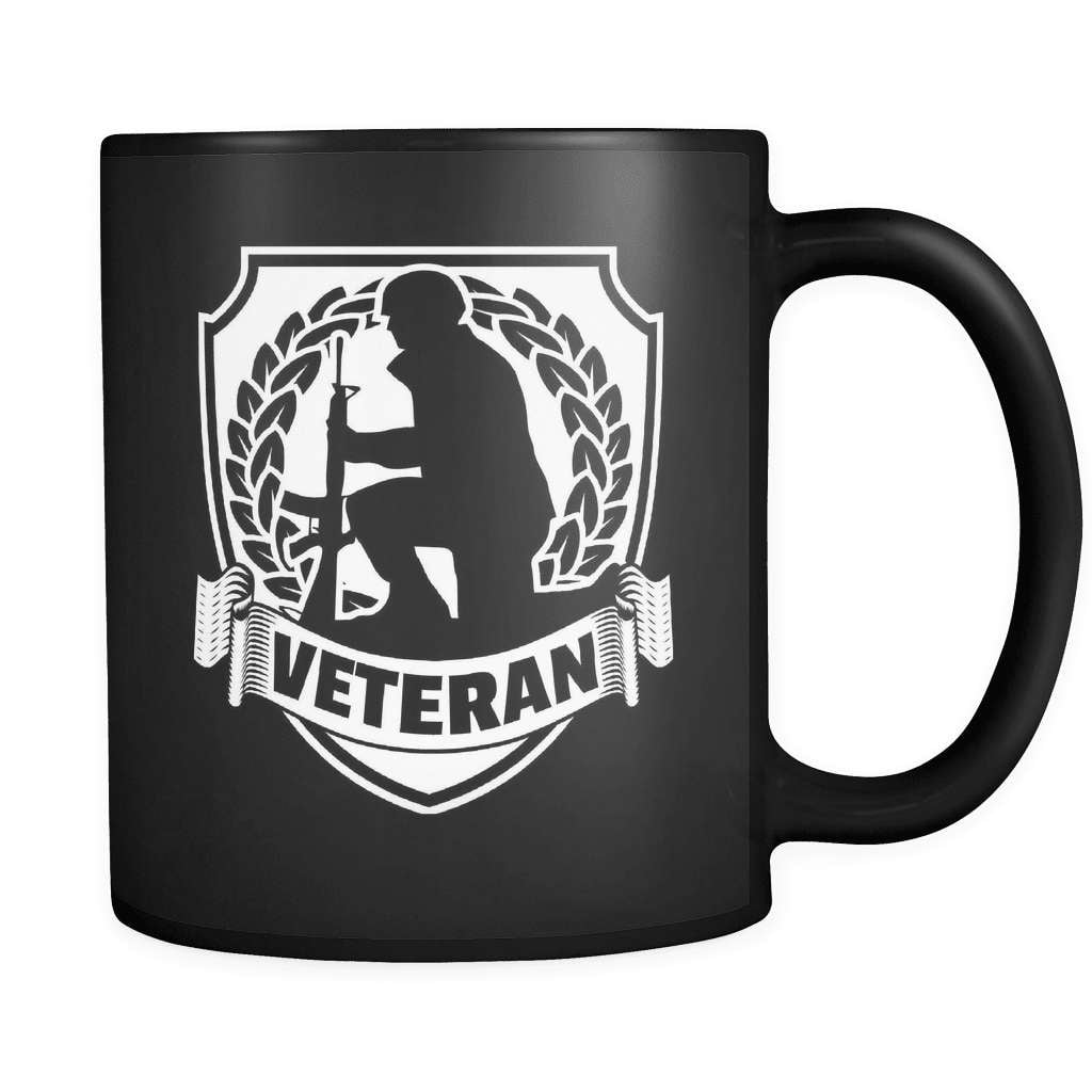 Veteran Crest - Luxury Mug