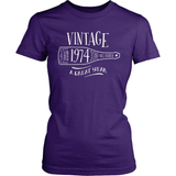 Birthday T-Shirt Design - Vintage - 1974