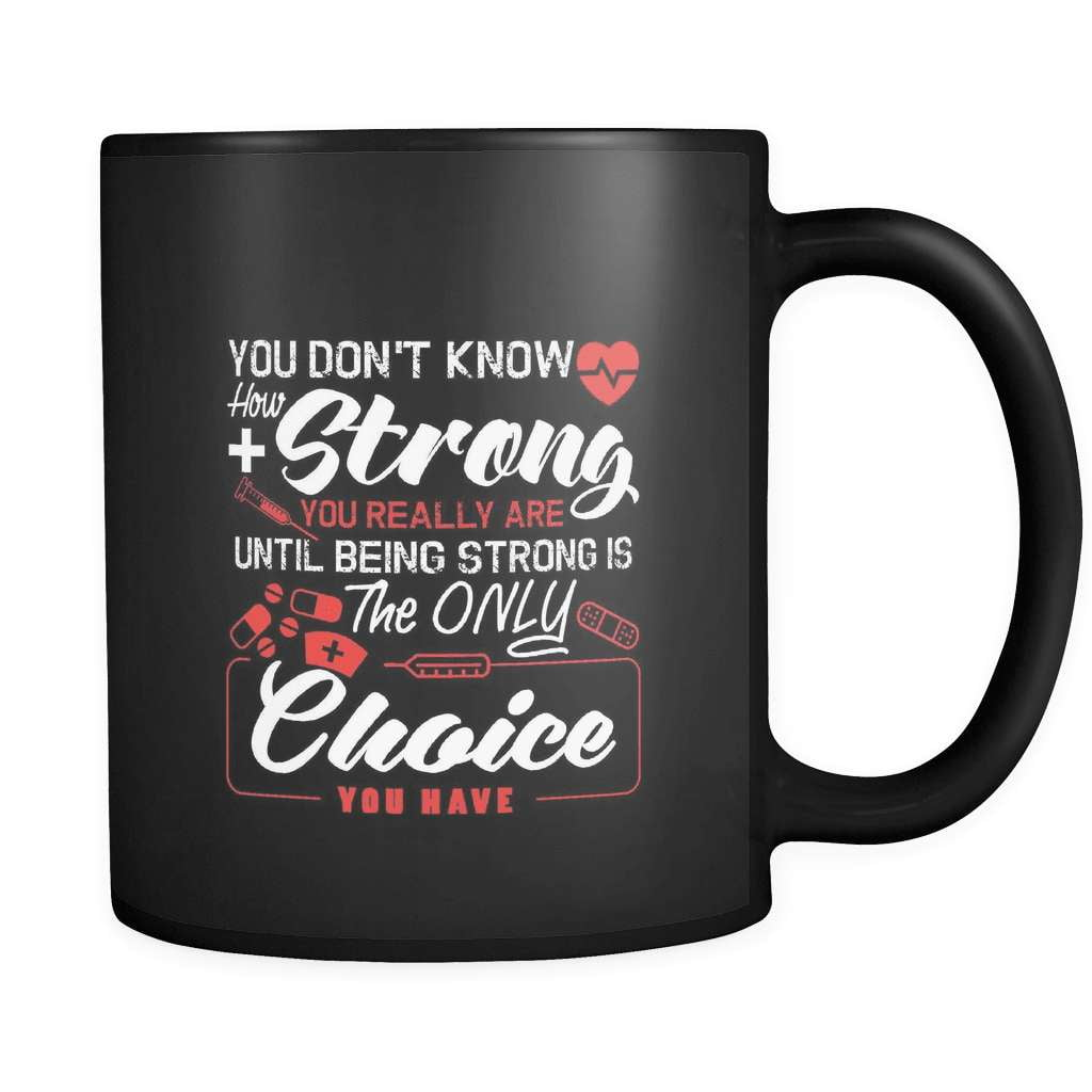The Only Choice - Luxury Nurse Mug - snazzyshirtz.com
