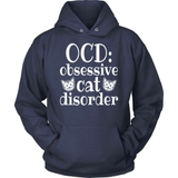 Cat T-Shirt Design - Obsessive Cat Disorder!