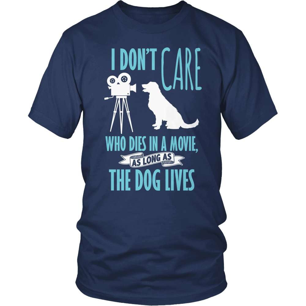 Dog T-Shirt Design - The Dog Lives