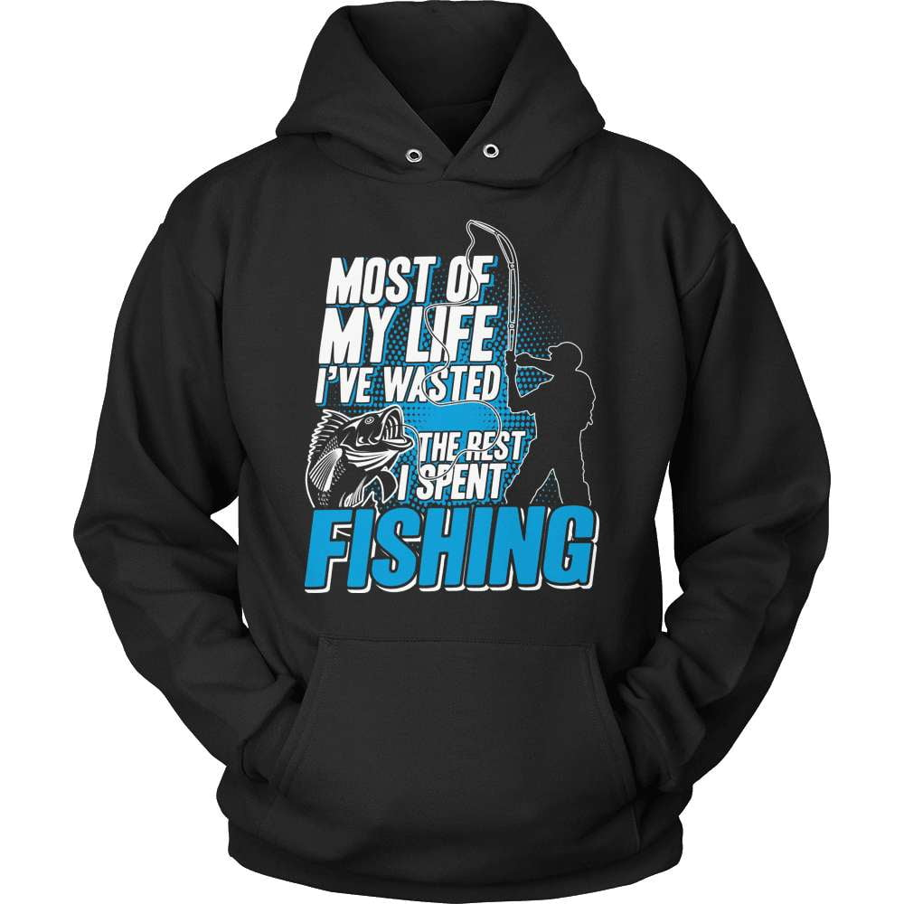 Fishing T-Shirt Design - Most Of My LIfe - snazzyshirtz.com