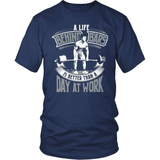 Fitness T-Shirt Design - A Life Behind Bars