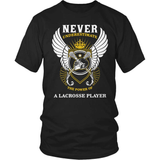 Lacrosse T-Shirt Design - Never Underestimate