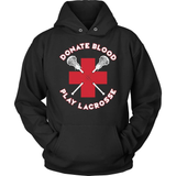 Lacrosse T-Shirt Design - Donate Blood