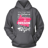 Oregon T-Shirt Design - Girl Out Of Oregon