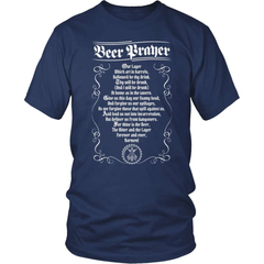 Beer Shirt - The Beer Prayer - snazzyshirtz.com