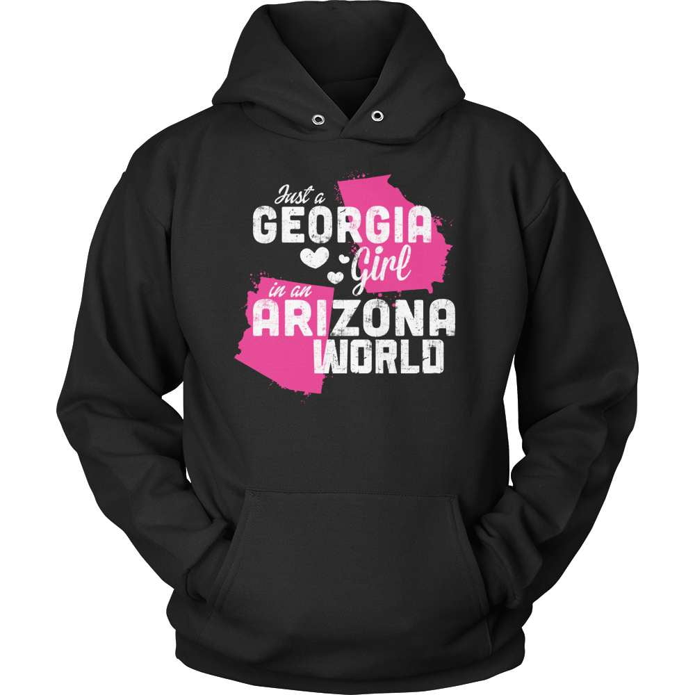 Georgia T-Shirt Design - Georgia Girl Arizona World - snazzyshirtz.com
