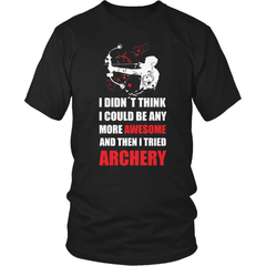 Archery T-Shirt Design - Awesome Archer - snazzyshirtz.com