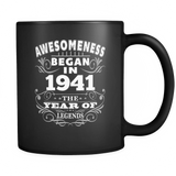 Birthday Mug - Born 1941 Awesomeness