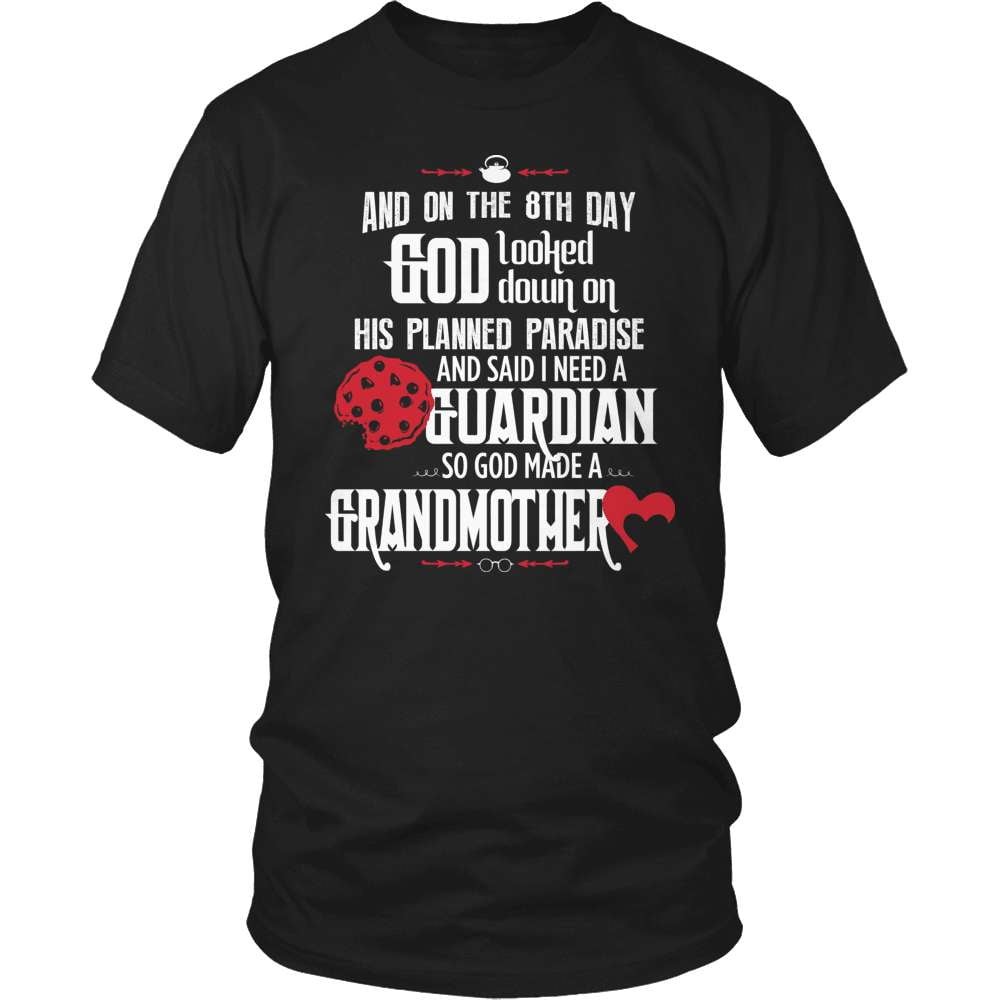 Grandparent T-Shirt Design - Guardian Grandmother - snazzyshirtz.com