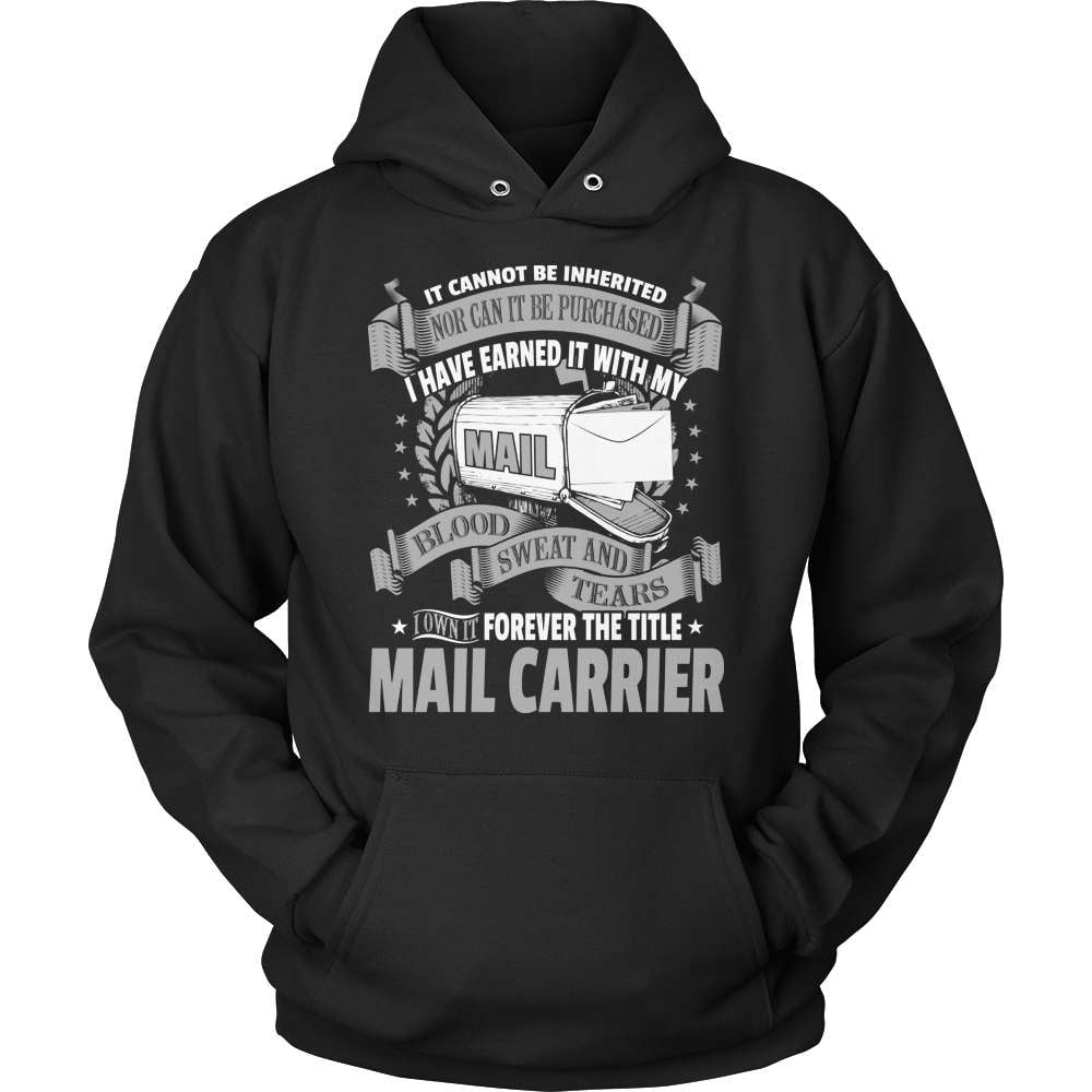 Mail Carrier T-Shirt Design - It Cannot Be Inherited! - snazzyshirtz.com