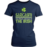Irish T-Shirt Design - Sarcasm