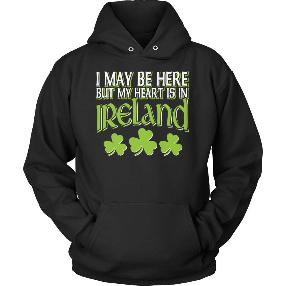 Irish T-Shirt Design - My Heart Is In Ireland