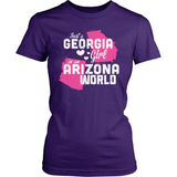 Georgia T-Shirt Design - Georgia Girl Arizona World