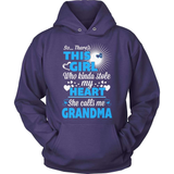 Grandparent T-Shirt Design - The Girl Stole MY Heart