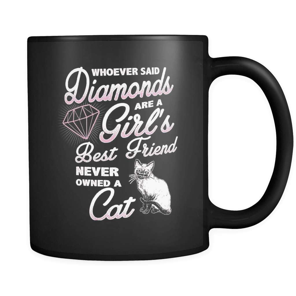 Diamond Cat - Luxury Mug