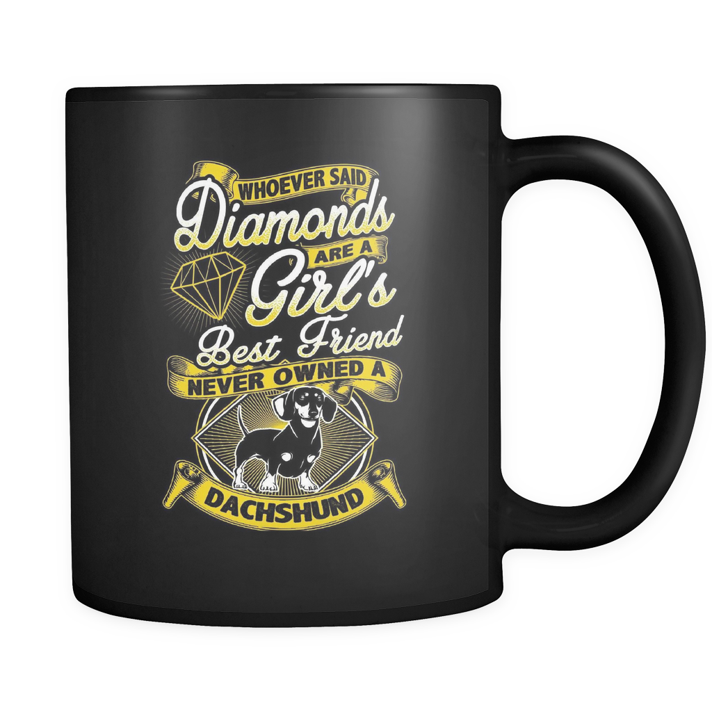 Never Had A Dachshund - Luxury Mug