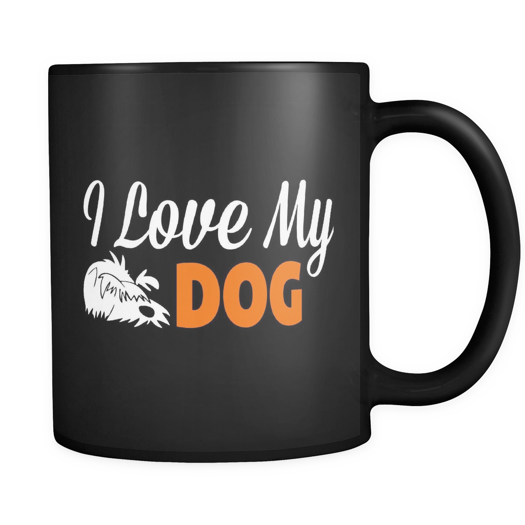 I Love My Dog - Luxury Mug
