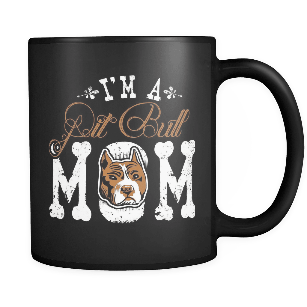I'm A Pit Bull Mom - Luxury Mug