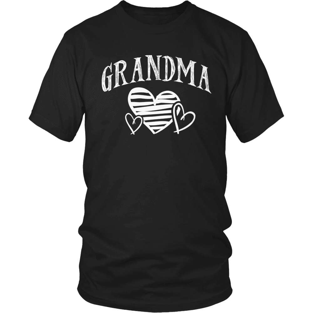 Grandparent T-Shirt Design - Grandma Heart - snazzyshirtz.com