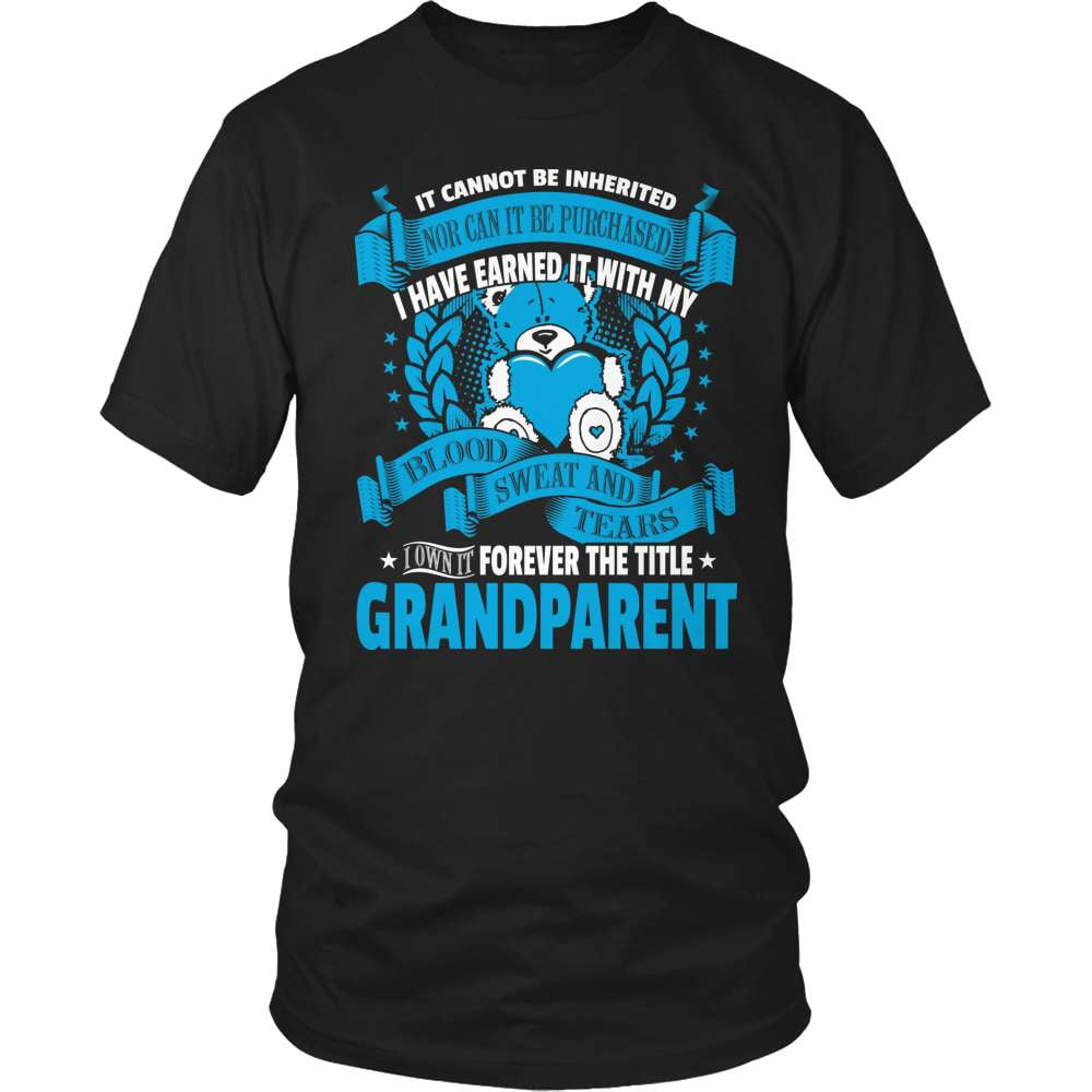 Grandparent T-Shirt Design - Forever The Title