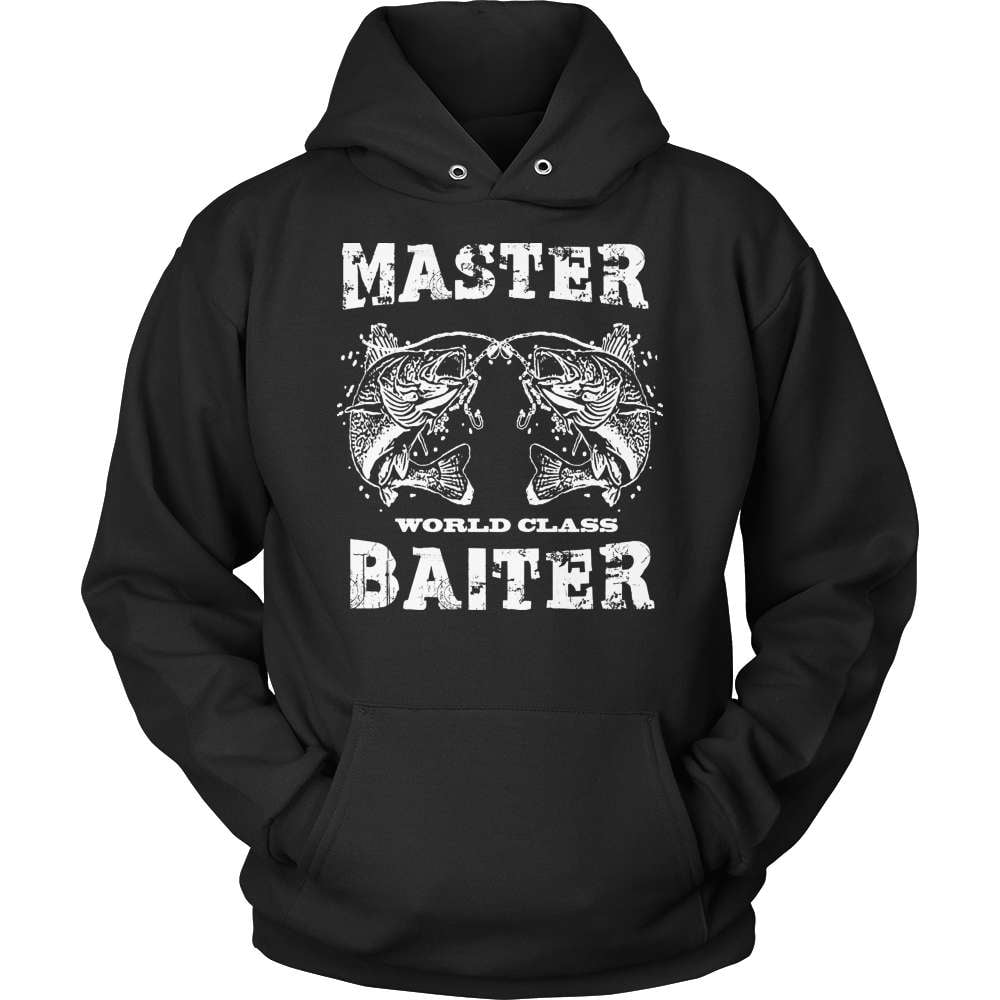 Fishing T-Shirt Design - Master Baiter World Class!