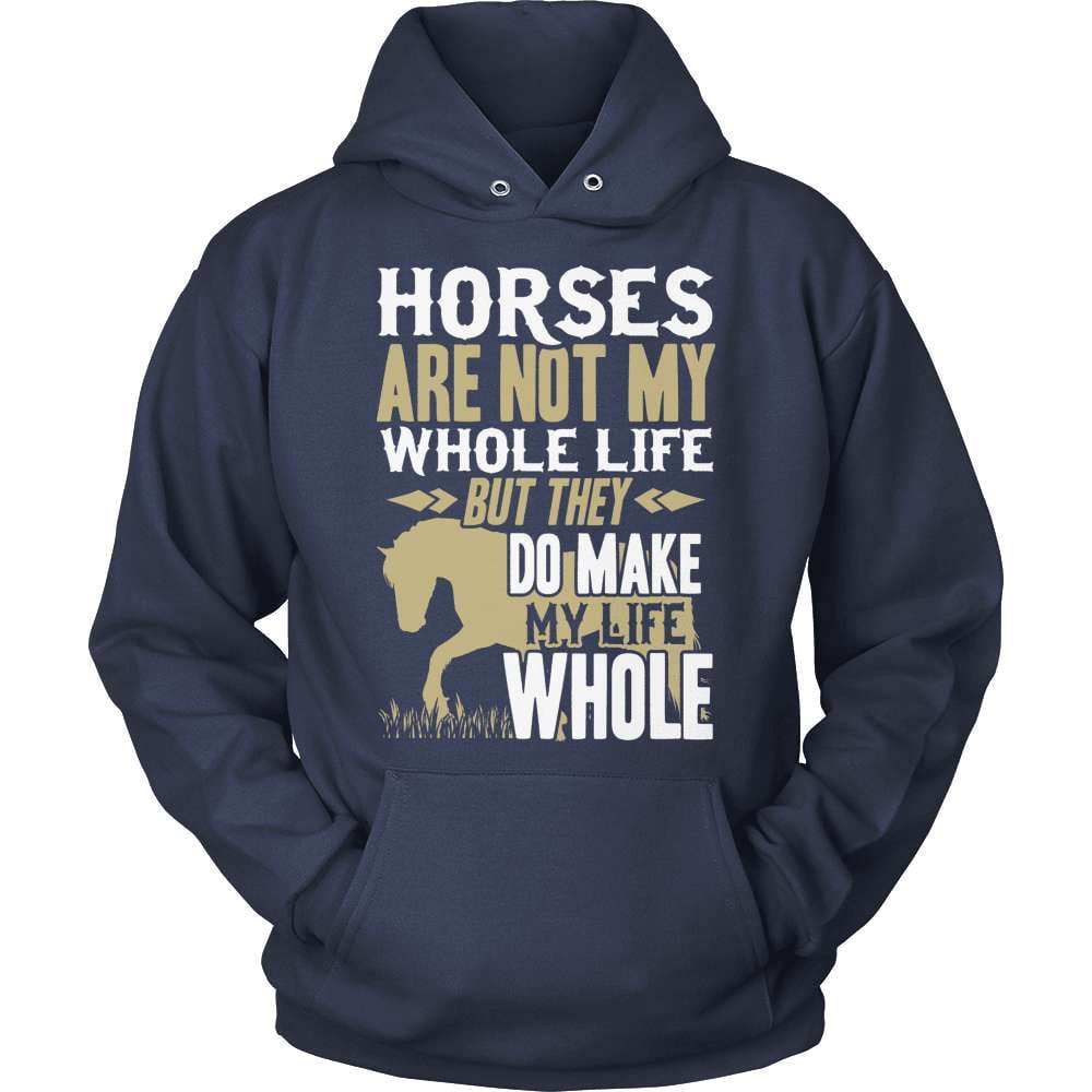 Horse T-Shirt Design - Horses Make My Life Whole