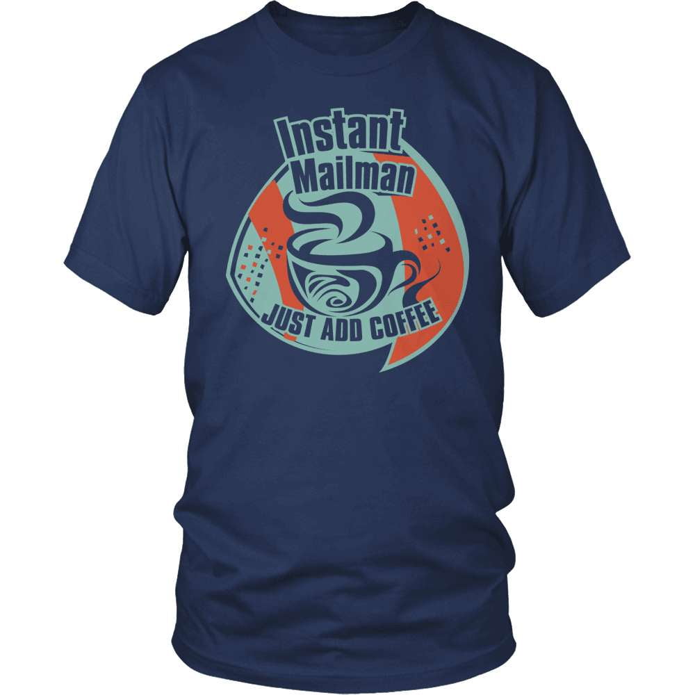 Mail Carrier T-Shirt Design - Instant Mailman
