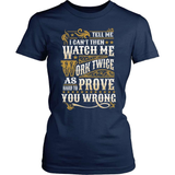 Country T-Shirt Design - Watch Me Work