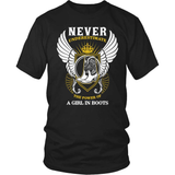 Country T-Shirt Design - Never Underestimate
