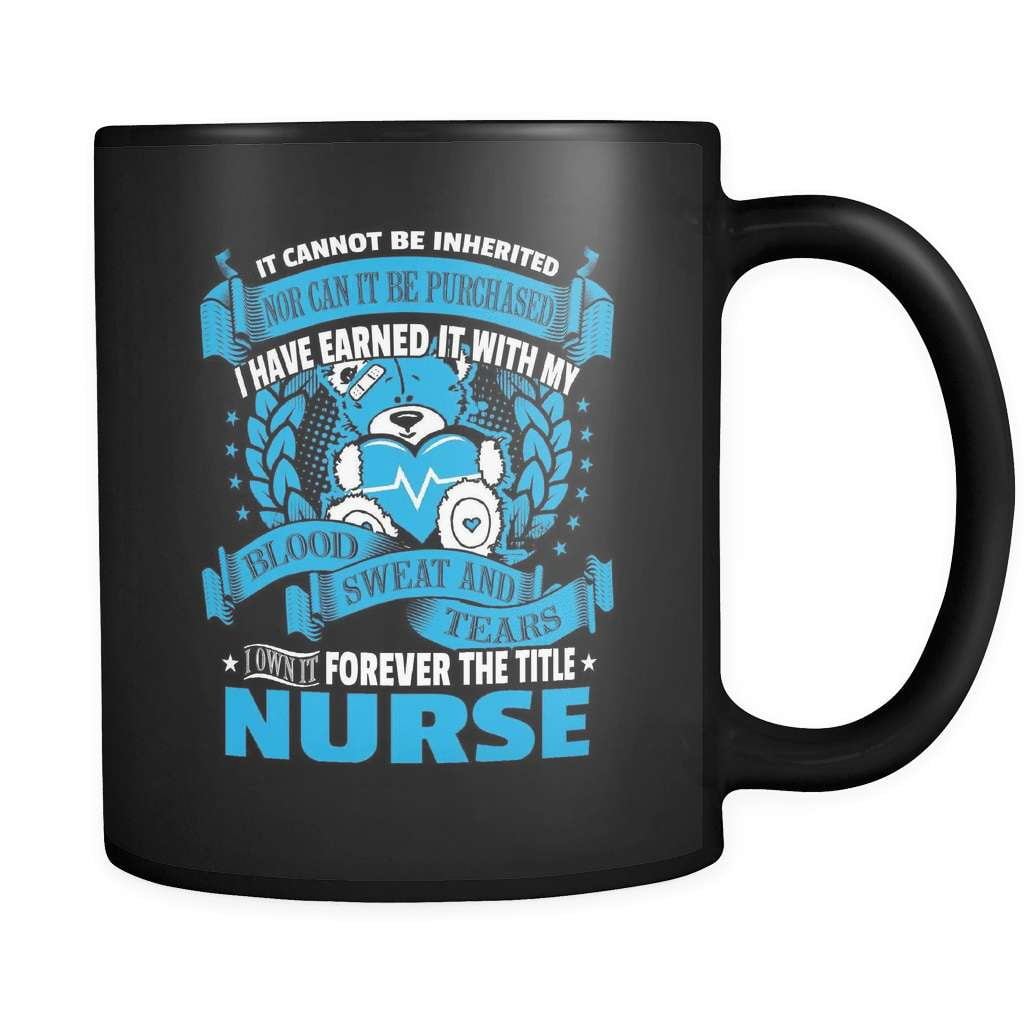 Forever The Title - Luxury Nurse Mug