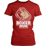 Boxer T-Shirt Design - Boxer Mom