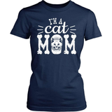 Cat T-Shirt Design - I'm A Cat Mom