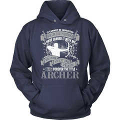 Archery Shirt - Forever The Title - snazzyshirtz.com