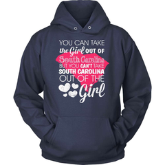 South Carolina T-Shirt Design - Girl Out Of South Carolina