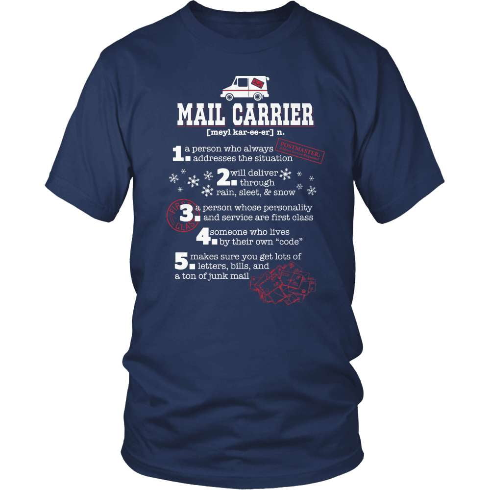 Mail Carrier T-Shirt Design - I'm A Mail Carrier