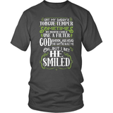 Country T-Shirt Design - Daddy's Temper!