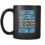 I'm An Autism Aunt - Luxury Mug