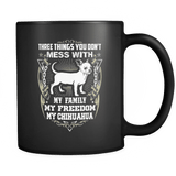 My Family My Freedom My Chihuahua - Luxury Mug