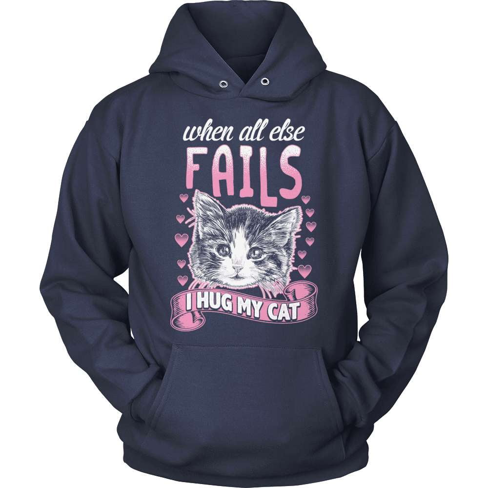 Cat T-Shirt Design - When All Else Fails