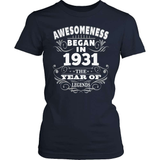 Birthday T-Shirt Design - Awesomeness - 1931